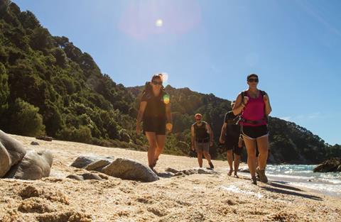 Abel Tasman Coast Track. Photo: DOC
