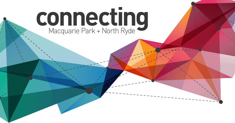connecting Macquarie Park + North Ryde