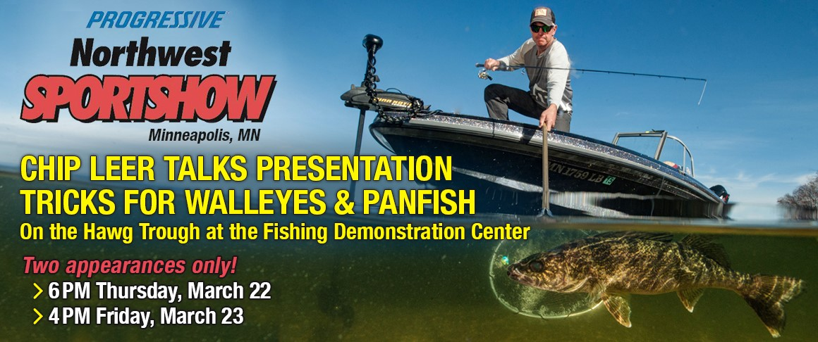 "Presentation Tricks for Panfish and Walleyes at the Northwest Sportshow ""Hawg Trough"" Demonstration Center"