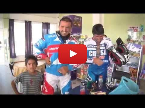 Team HRC Dakar Rally 2015. Behind the Scenes  Stage 3