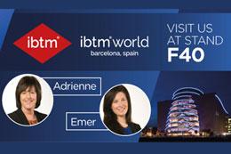 Meet us at IBTM World