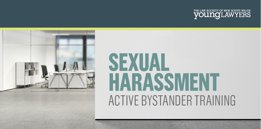 Sexual Harassment - Active Bystander Training