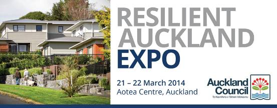 Resilient Auckland Expo banner