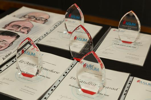 2019 ASUM Awards for Excellence Nominations