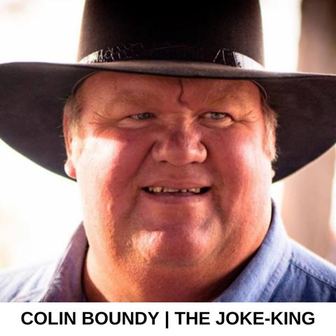 RFTTE Joke-king | Colin Boundy