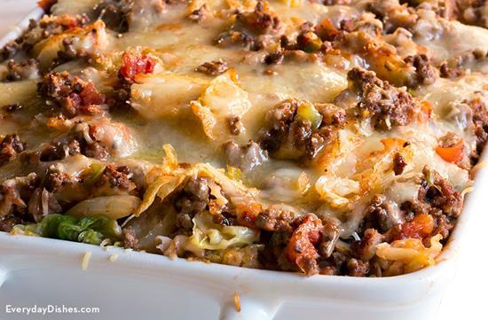 Low-Carb Lasagna Video
