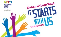 National Youth Week logo