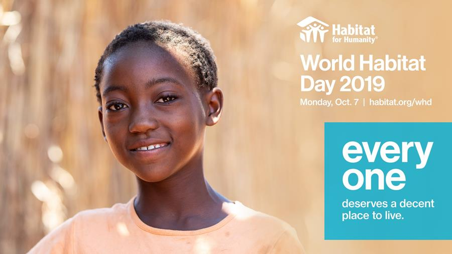 World Habitat Day Header Image