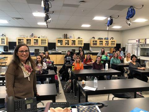 Mentoring young women in STEM