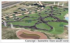Pumptrack concept plan