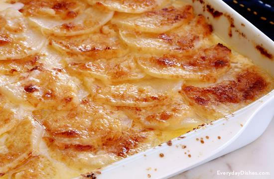 Cheesy Turnips au Gratin