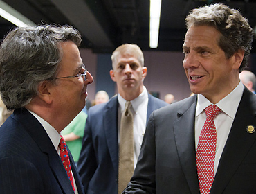 Gov. Cuomo visits SU to present new legislation to protect New Yorkers with disabilities