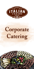 Ad: Italian Centre Shop - Corporate catering