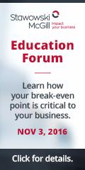Ad: Stawowski McGill – Education forum