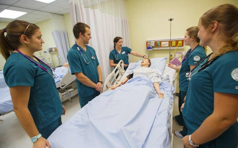 Castleton nursing students