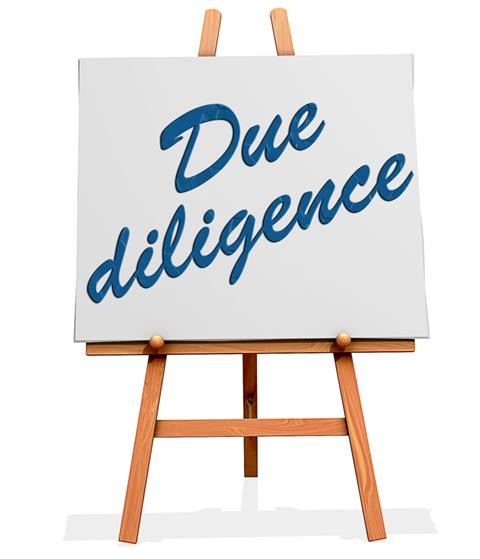Due diligence image