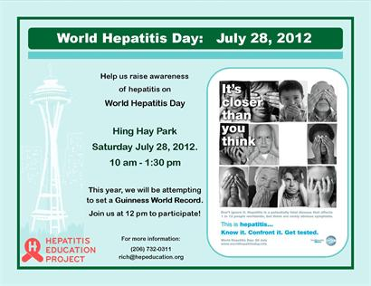World Hepatitis Day Poster