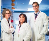 Dr. Joanne Knight, Dr. Fang Liu and Dr. Aristotle Voineskos