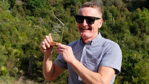 Waiheke trail builder wins Outdoor Access Champion Award
