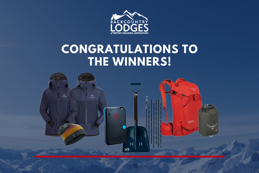 Congratulations to the winners of the BLBCA-BMFF Raffle