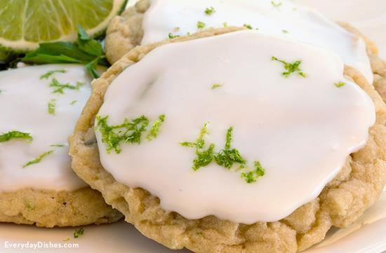 Lime and Basil Sugar Cookies