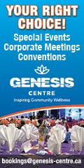 Ad: Genesis Centre – Corporate meeting space