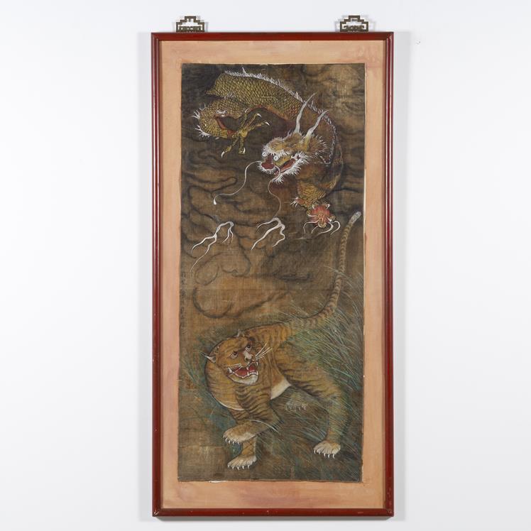 Tibetansk akvarel