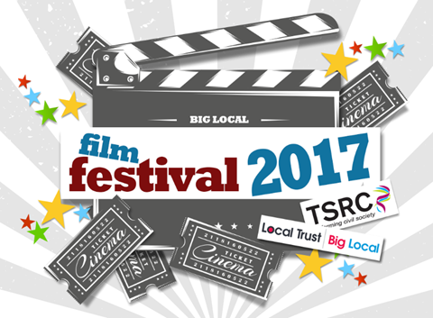 Clapperboard reads 'Film Festival 2017'