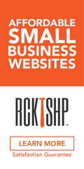 Ad: RCKTSHP - Affordable small business websites