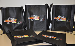 Bags with Pop-con logo