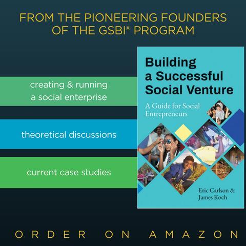 Book: Building a Successful Social Venture