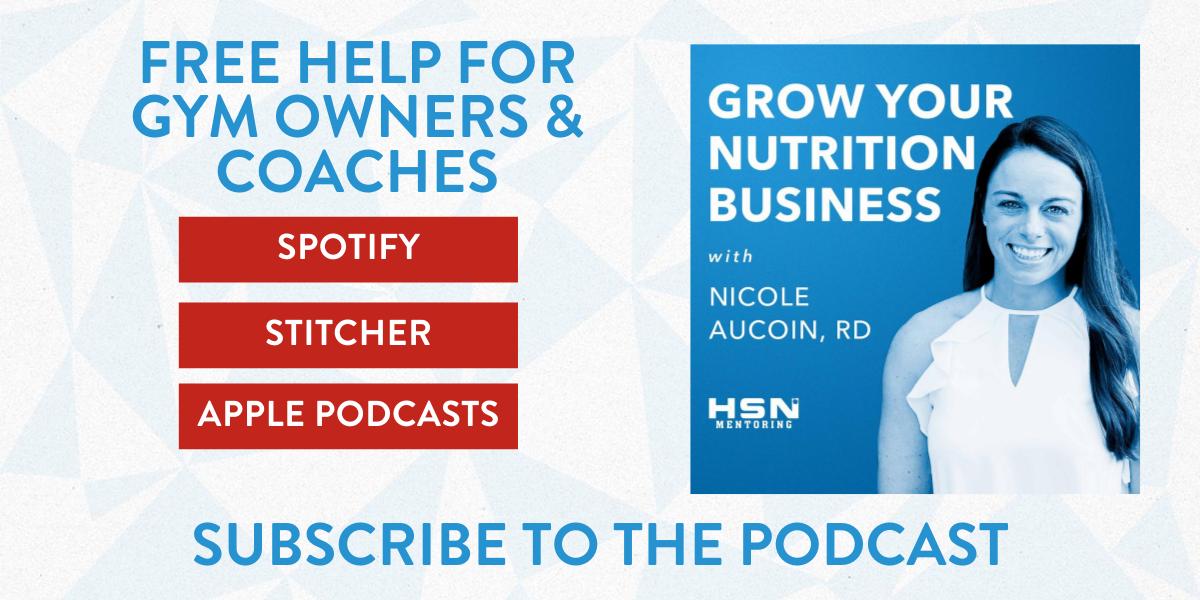 Are You Building A Nutrition Program?