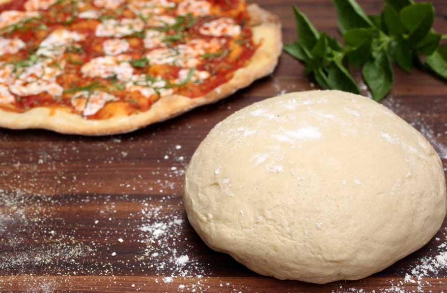 Einkorn pizza dough