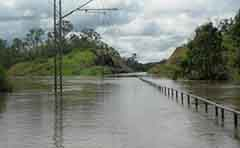 A photo from the 2013 Gladstone Region floods