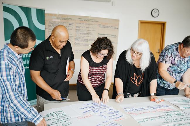 The Community Waikato team