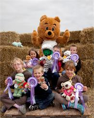 Best Dressed Teddy Bear competition winners