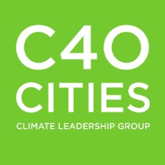 Logo for C40 Cities Climate Leadership Group