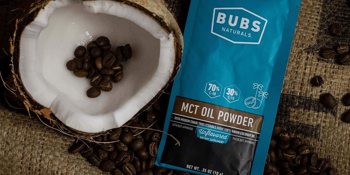 Free MCT Oil Powder from BUBS