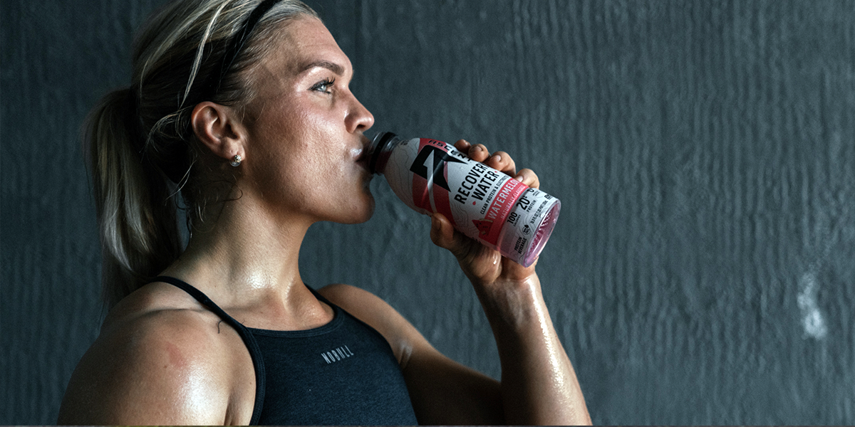 Hydration And 20g of Clean Protein? Only With Recovery Water
