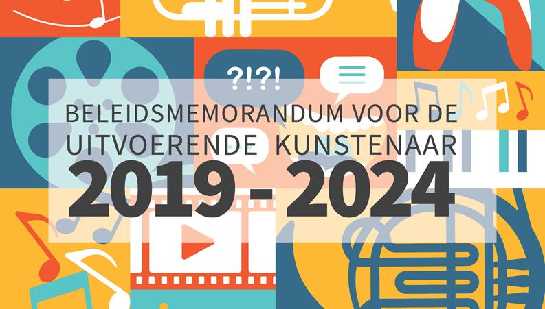 Het memorandum voor de uitvoerende kunstenaar 2019 is er