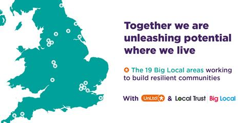 UnLtd and Local Trust helpsocial entrepreneurs in Big Local areas