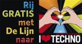 Rij gratis met De Lijn naar I Love Techno