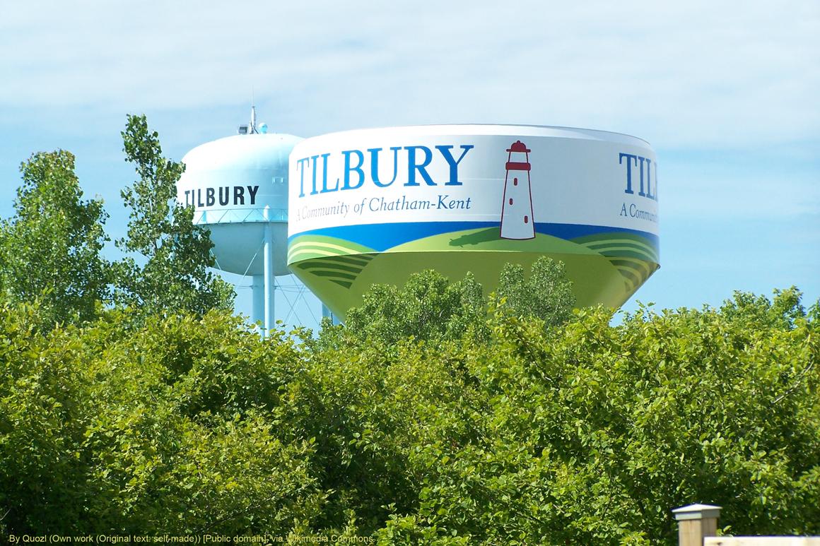 Tillbury water tower