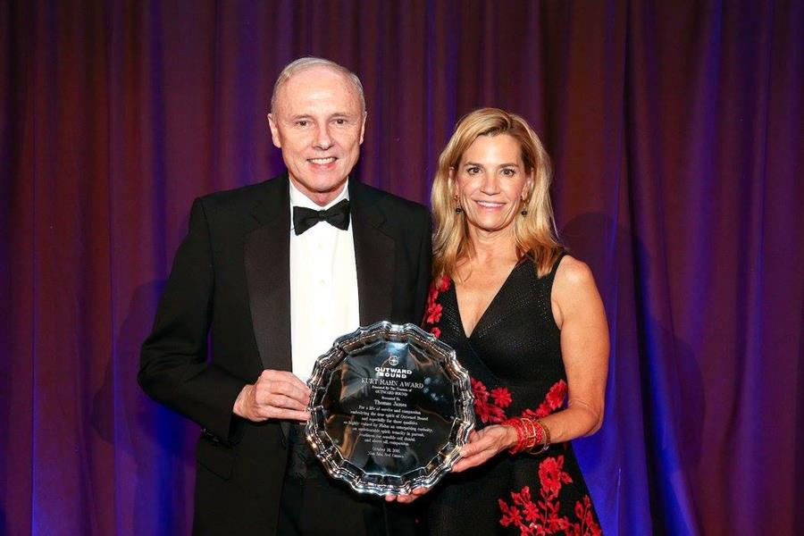 Tom James, NCOBS board member, wins national Outward Bound award