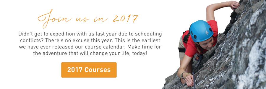 2017 Course Calendar