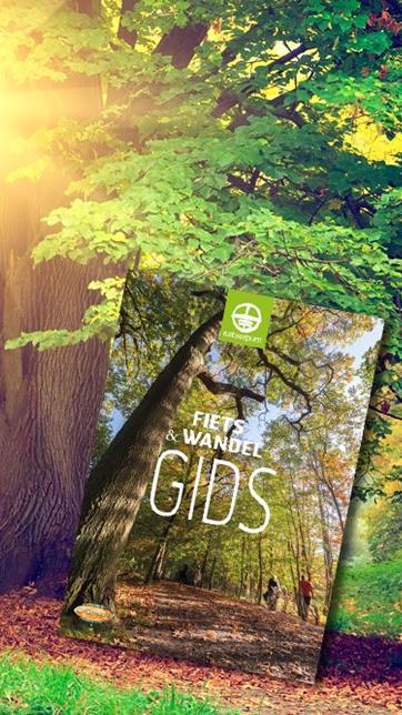 Word lid van Natuurpunt en ontvang onze nieuwe Fiets- en Wandelgids