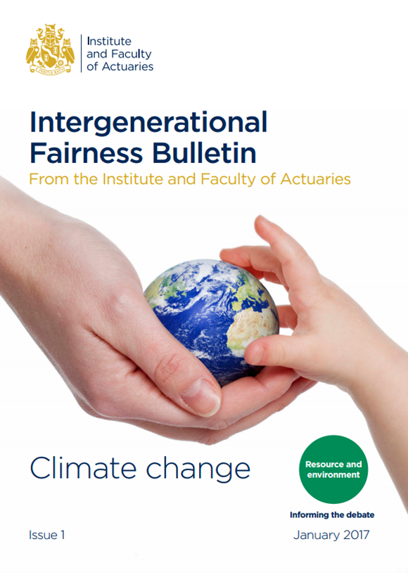 Intergenerational Fairness bulletin front cover