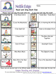 Read and Sing Home-to-School Book Club