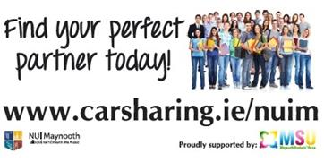 Outdoor Banner Car Sharing Campaign - NUI Maynooth