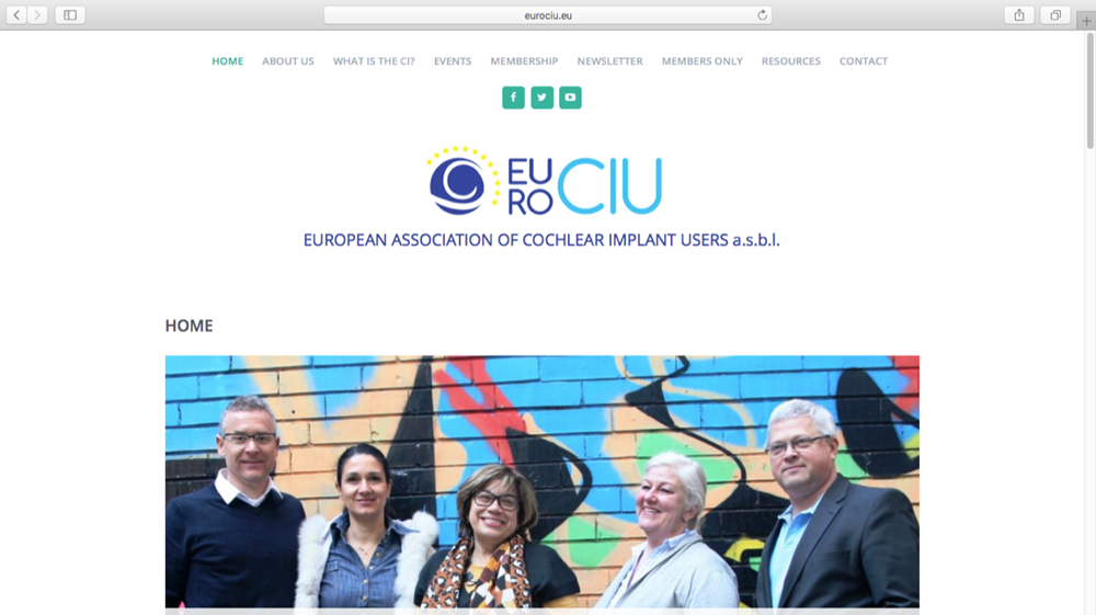 Photograph of the EURO-CIU Board